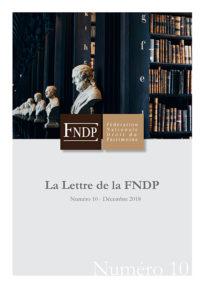 La lettre de la FNDP n°10