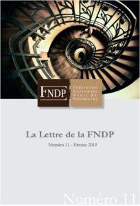 La lettre 11 de la FNDP