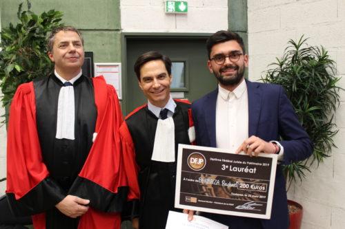 Raphaël Barbaza - 3éme lauréat du DFJP