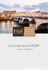 La lettre de la FNDP n°13