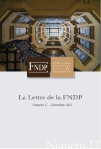 La lettre de la FNDP - N°17
