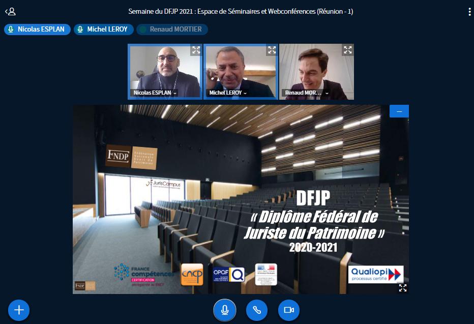 Introduction semaine séminaires DFJP 2021