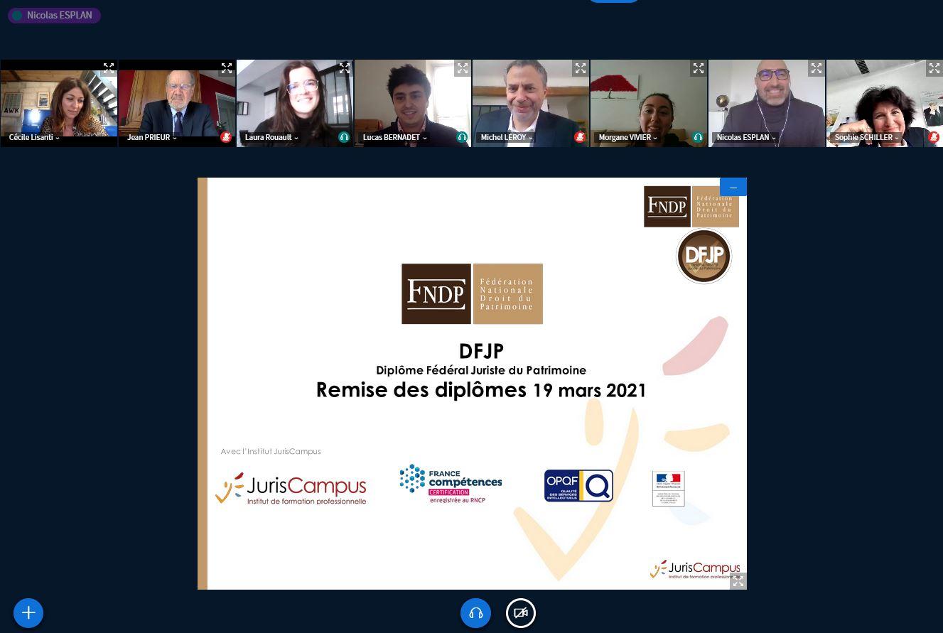 Lauréats DFJP 2021