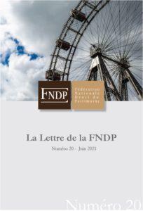 La lettre n°20 de la FNDP